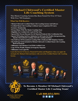 Certified Master Life Coaching System
